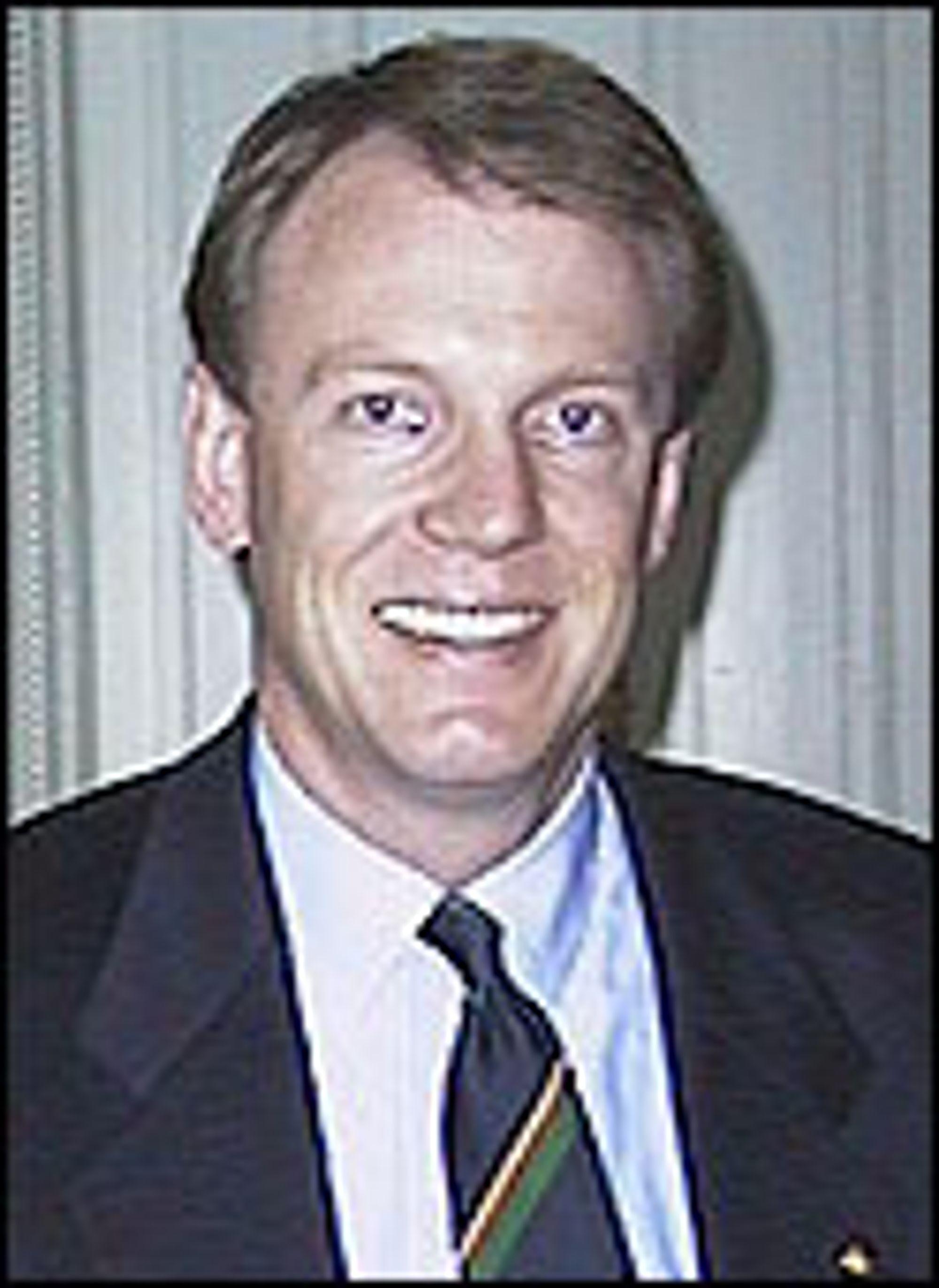 Europasjef i Apple Computer, Jan Larsen.