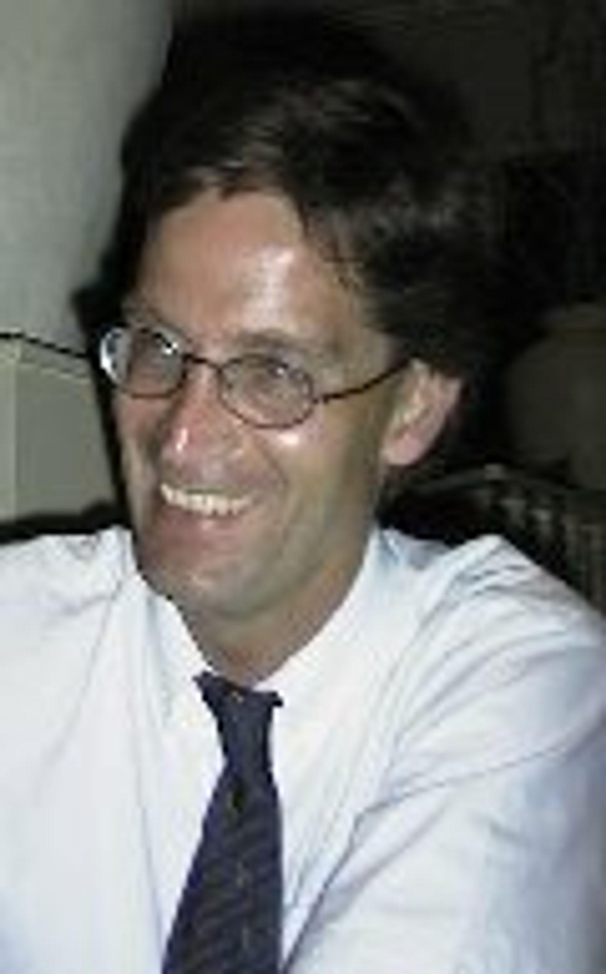 Administrerende direktør i Telenor Satellite Services, Knut Reed.