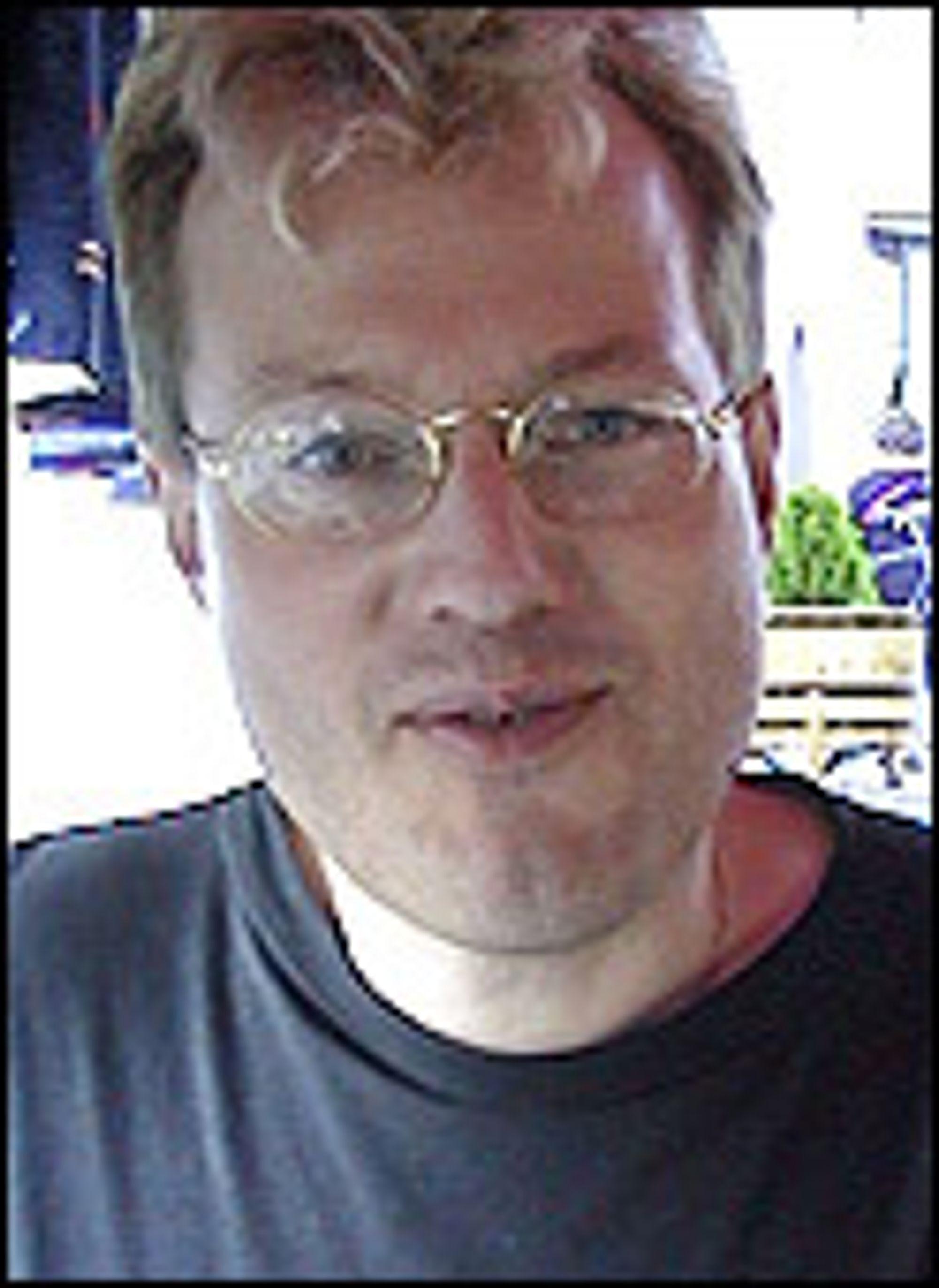 Sjef for forretningsutvikling i Statens Datasentral, Vidar Sandvik.