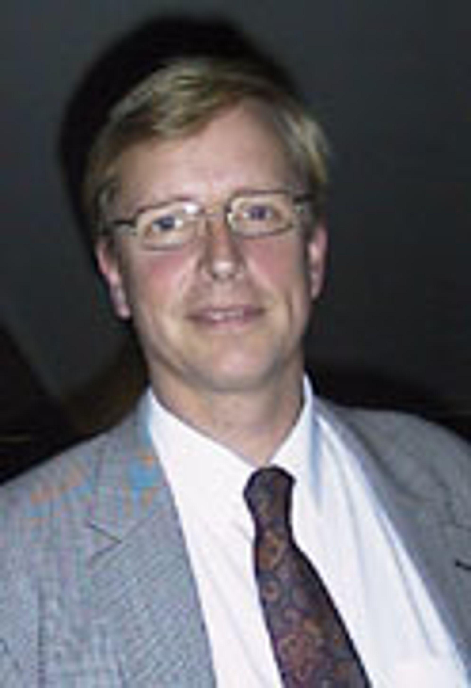 Administrerende direktør i Telenor Mobil, Stig Herbern.