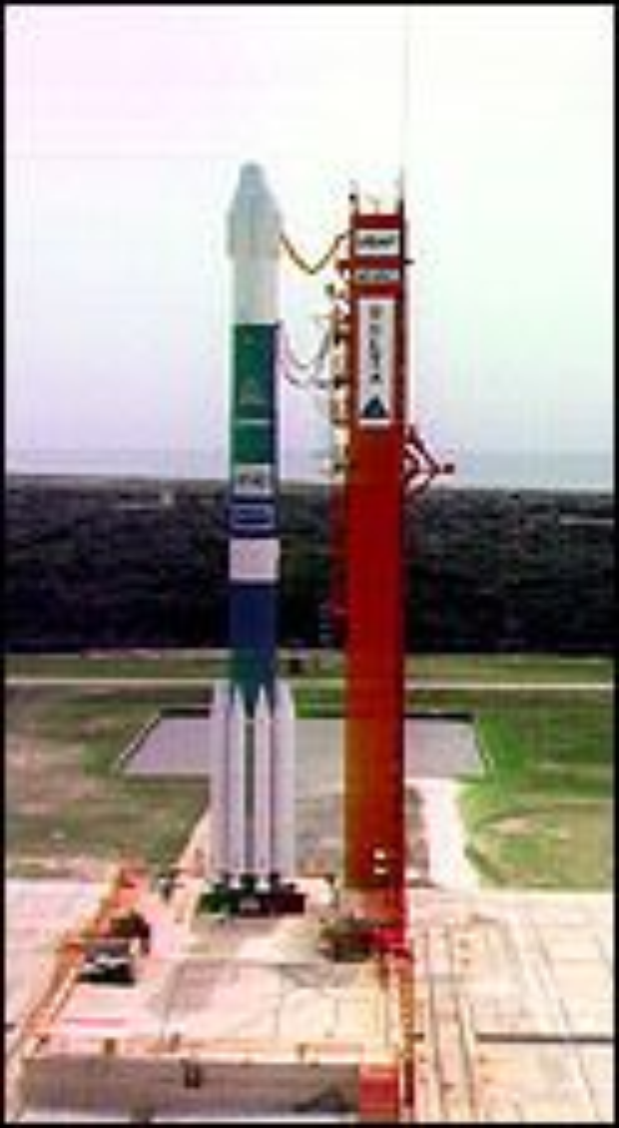 Bæreraketten Delta II.