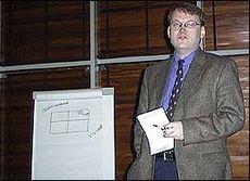Administrerende direktør i Skrivervik Data, Jens Rugseth.