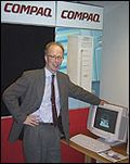 Compaqs administrerende direktør, Jan Erik Rydningen.