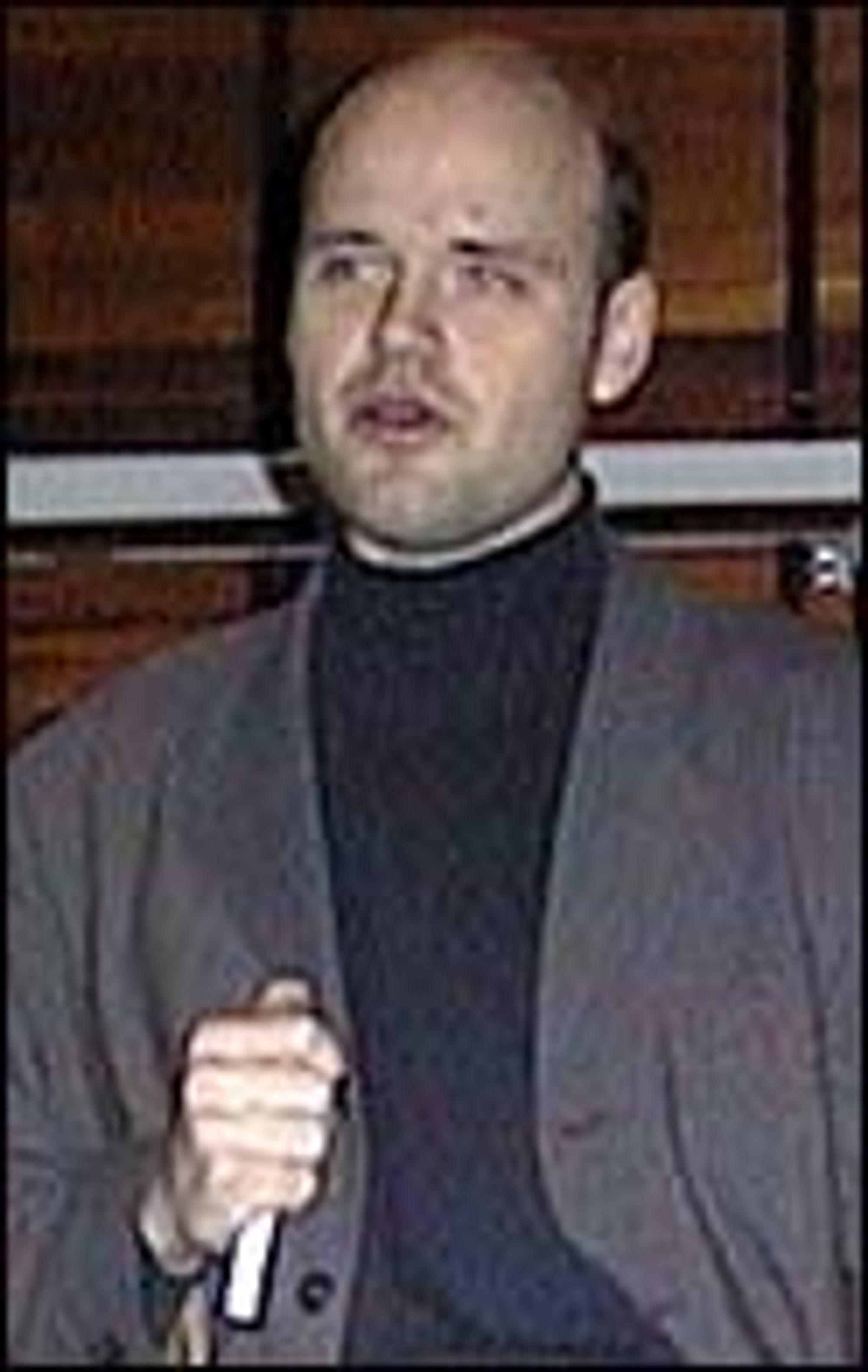 Sven Ole Skrivervik, Produktmarkedssjef i Skrivervik Data.