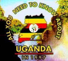 Uganda-CD fra Cliché Grafisk.