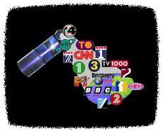 TV-kanaler fra Thor 2-satellitten.