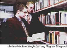 Anders Mediaas Wagle og Magnus Ødegaard