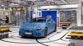 Mercedes EQS har oppsiktsvekkende lav luftmotstand