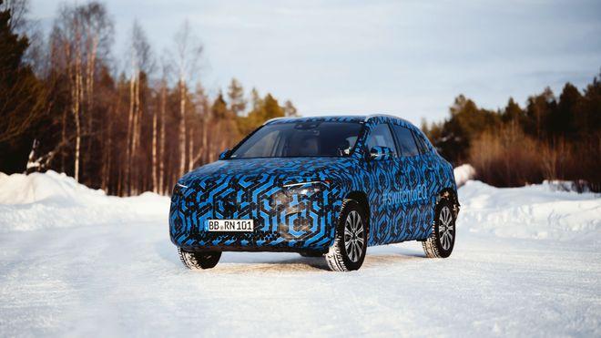 Produksjon av Mercedes EQA er i gang.