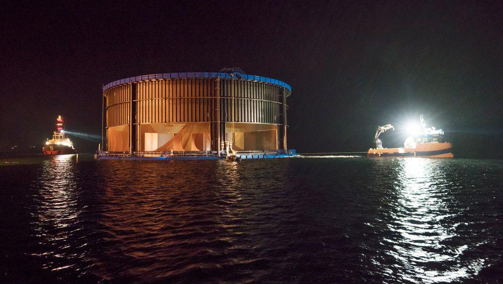 Midtnorsk havbruks Aquatraz var blant prosjektene som fikk utviklingstillatelse i forrige runde.