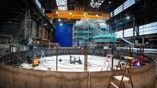 Her bygges Hywind Tampen: Slik skal kjempevindturbinene monteres
