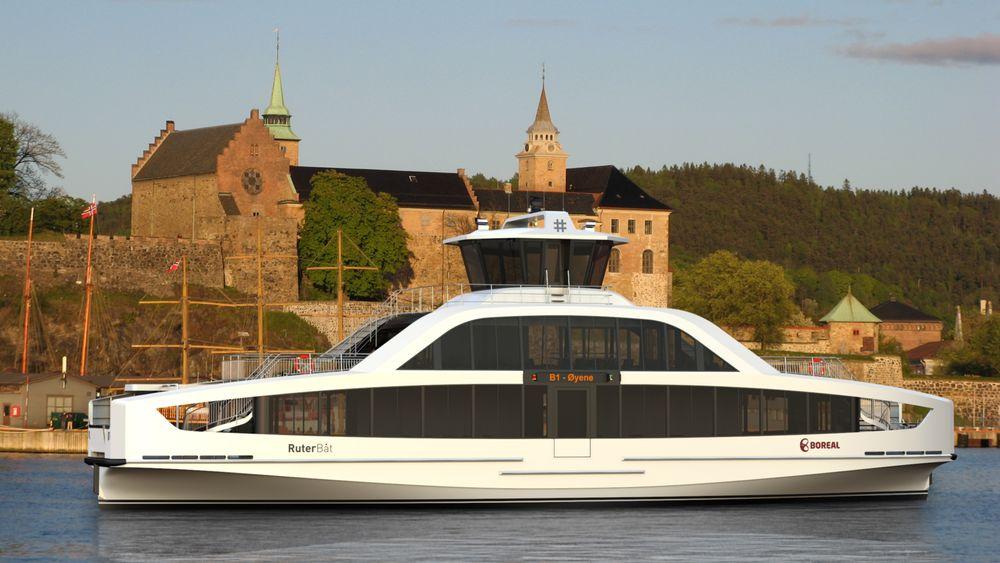 Boreal har fått mye oppmerksomhet for ferjer som skal komme i drift: Fem elektriske båter skal gå i Oslofjorden neste år. Nå har alle ferjer og hurtigbåter fått seilingsnekt.