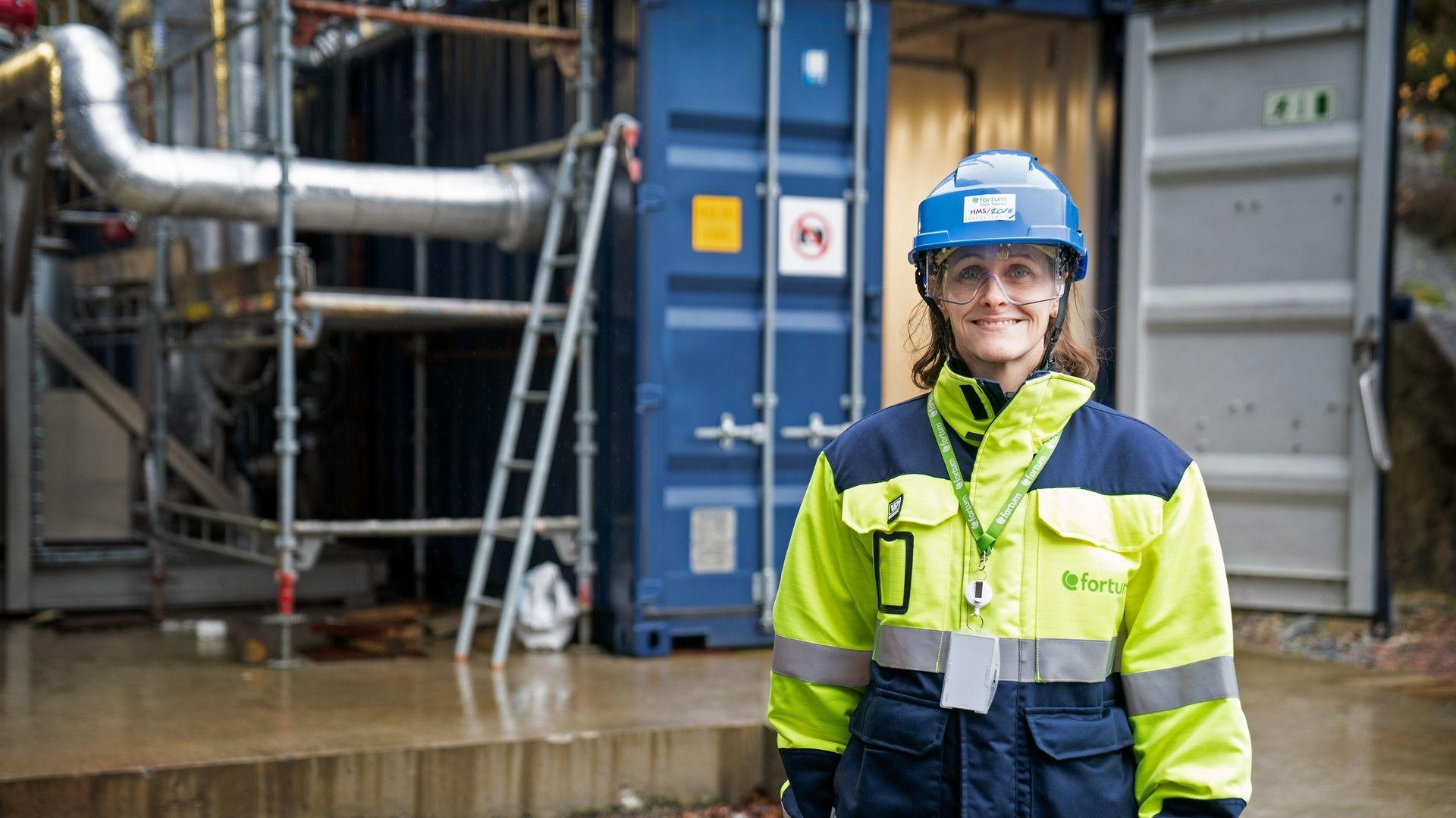 : Direktør Jannicke Gerner Bjerkås leder CCS-satsingen ved Oslo Fortum Varmes anlegg på Klemetsrud, som kunne blitt en pilot for søppelforbrenningsanlegg i Norge og andre land om regjeringen hadde gitt klarsignal.