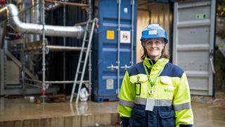 Norsk CO2-fangst bidrar til negative klimagassutslipp