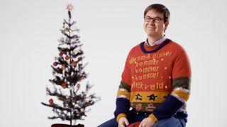 Her er mønsteret: Norsk AI laget verdens styggeste julegenser