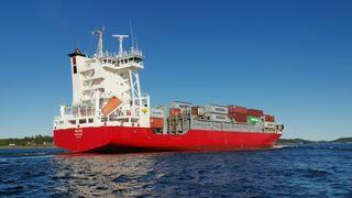 Containerskipet Ruth er på 11.253 dødvekttonn og eid av et tysk rederi. Lengde: 134 meter. Bredde: 22 meter. Klasse: DNV GL