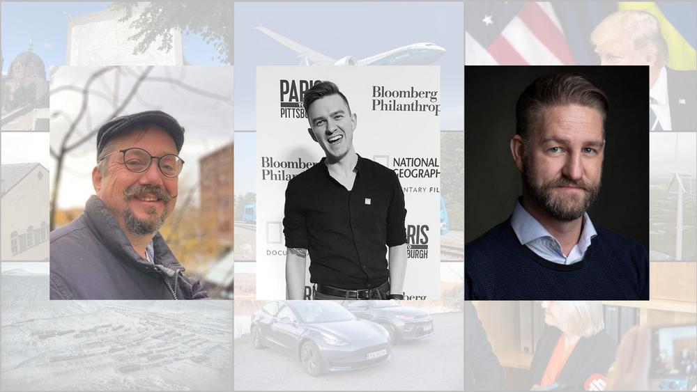 Halvor Halvorsen, Petter Christensen og Martin Riber Sparre er tre av fire vinnere av TUs spåkule 2020. De fikk 21 riktige svar av 26 mulige og har 1.266 deltakere bak seg på lista.