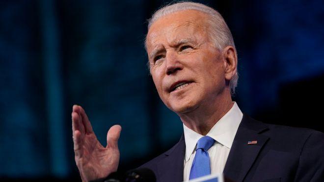 USAs påtroppende president Joe Biden.