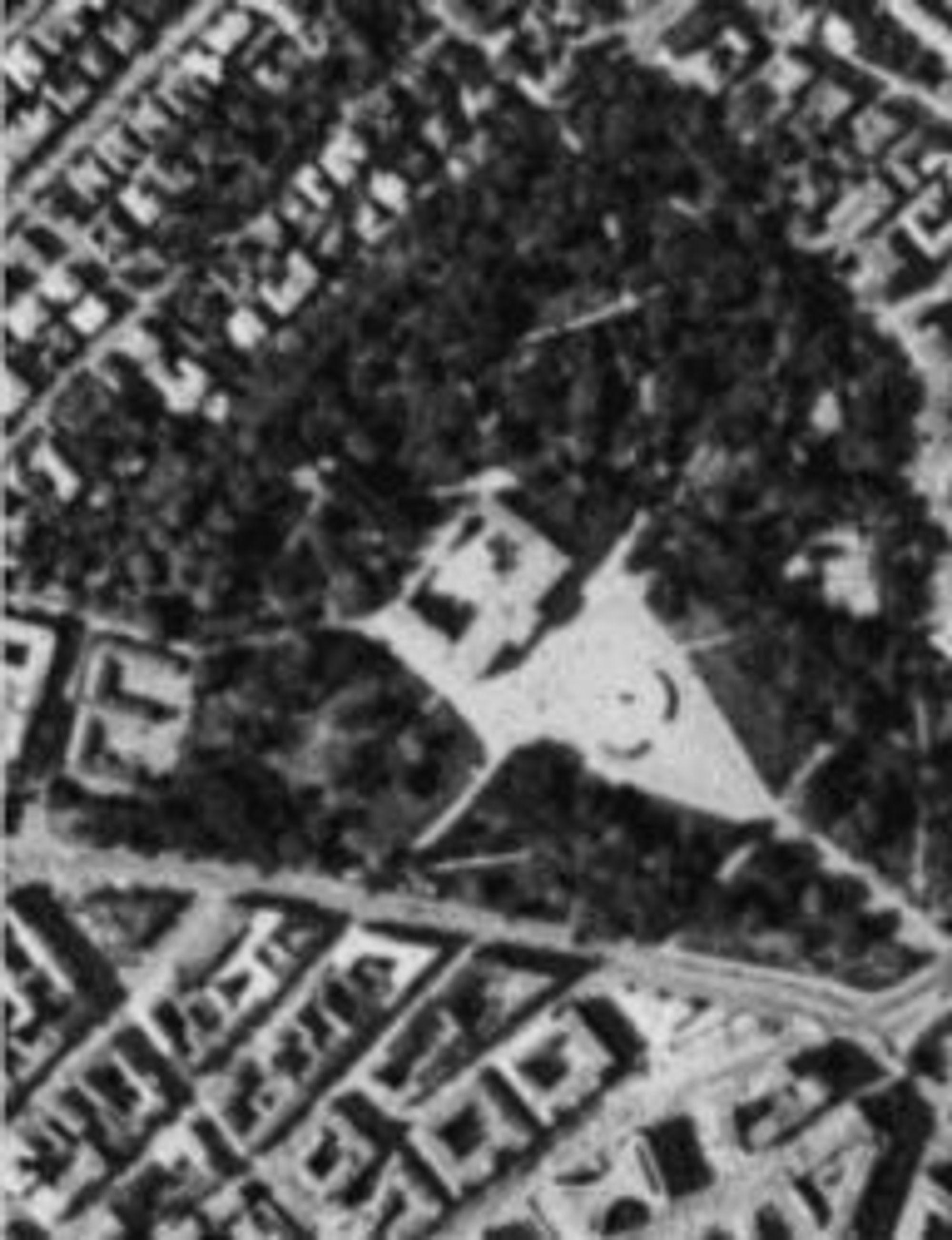 Satellittbilde av Slottsparken