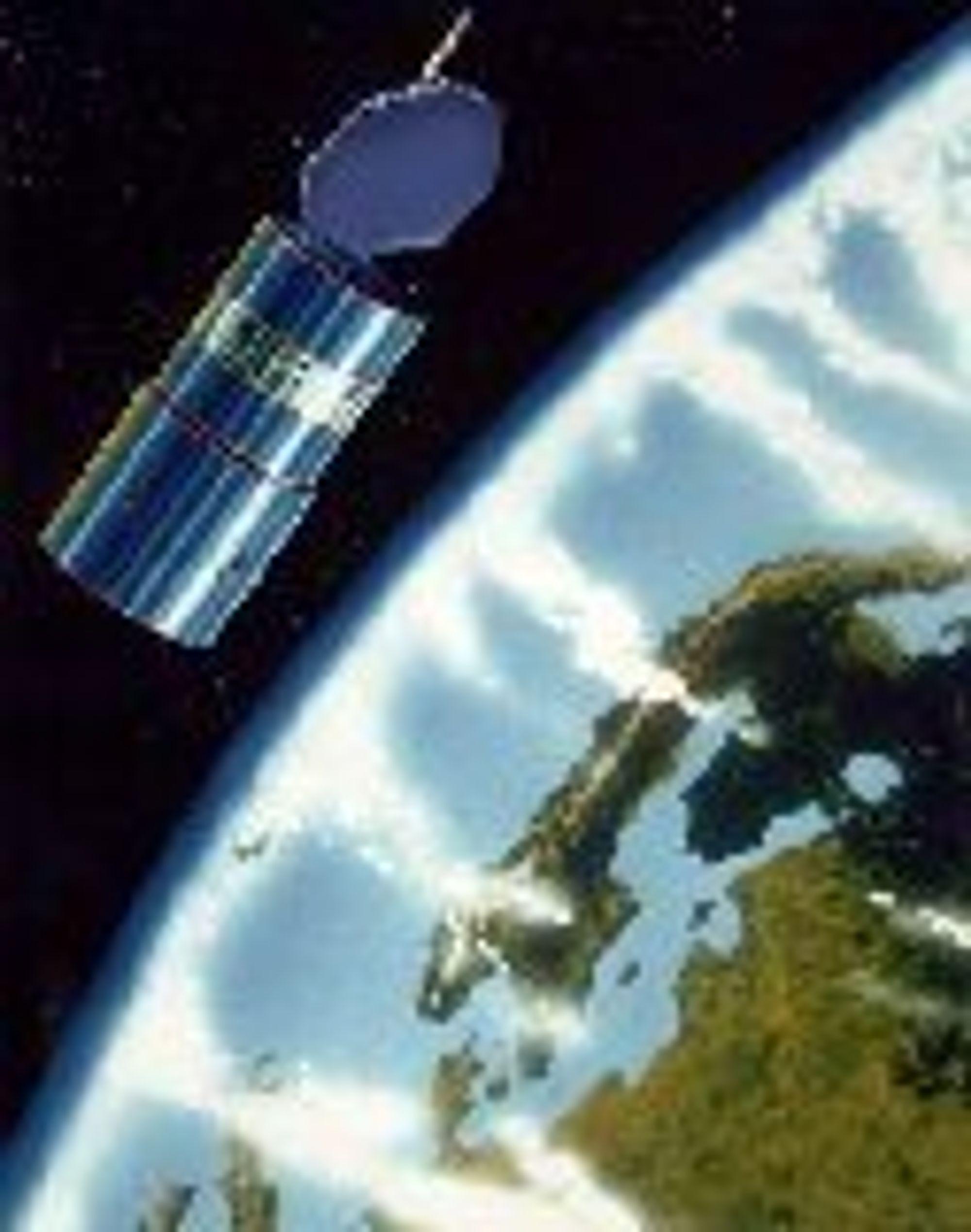 Telenors Thor 3-satellitt ble skutt opp juni 1998.