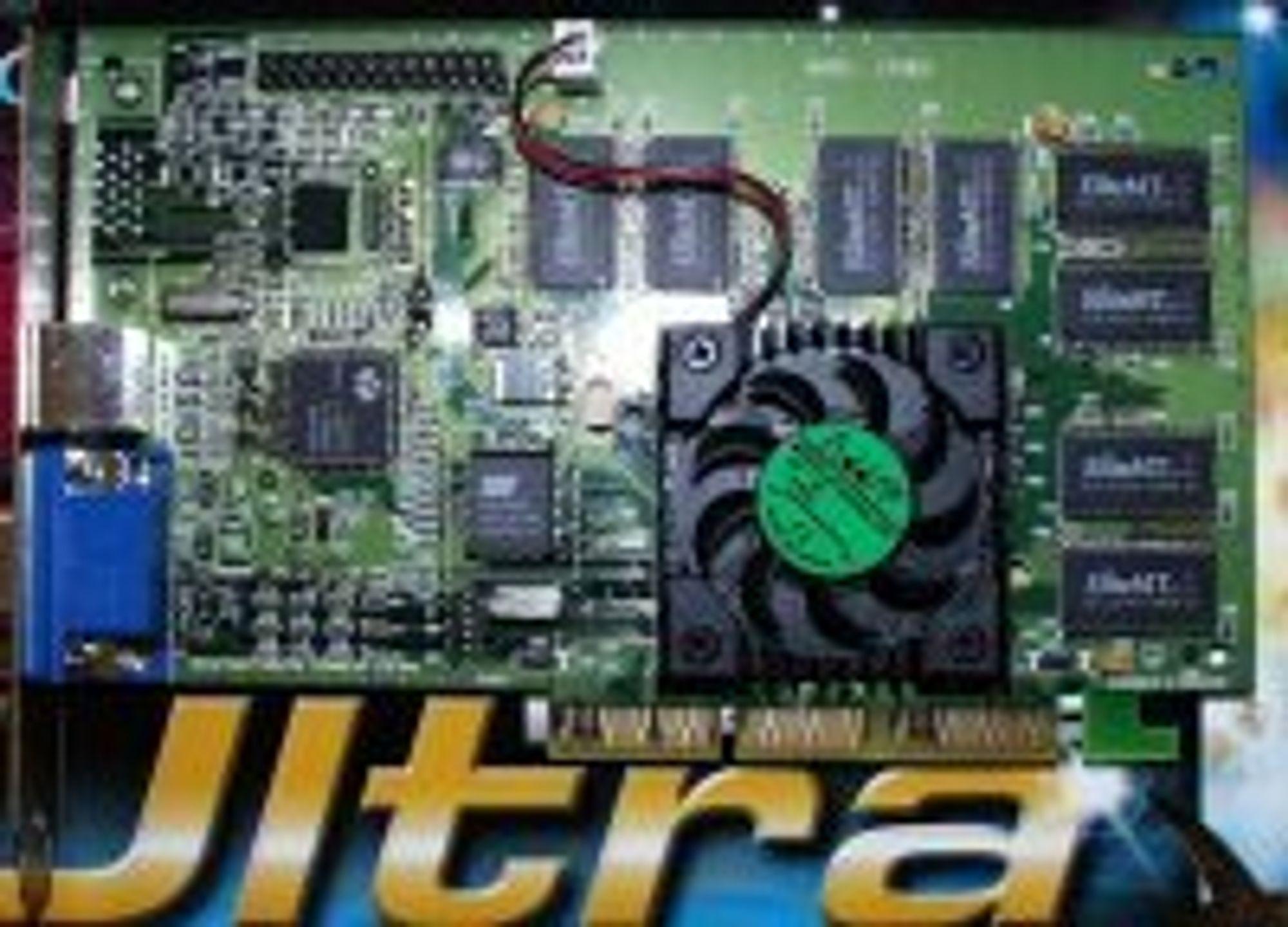 Skjermkortet Creative Labs 3D Blaster Riva TNT2 Ultra