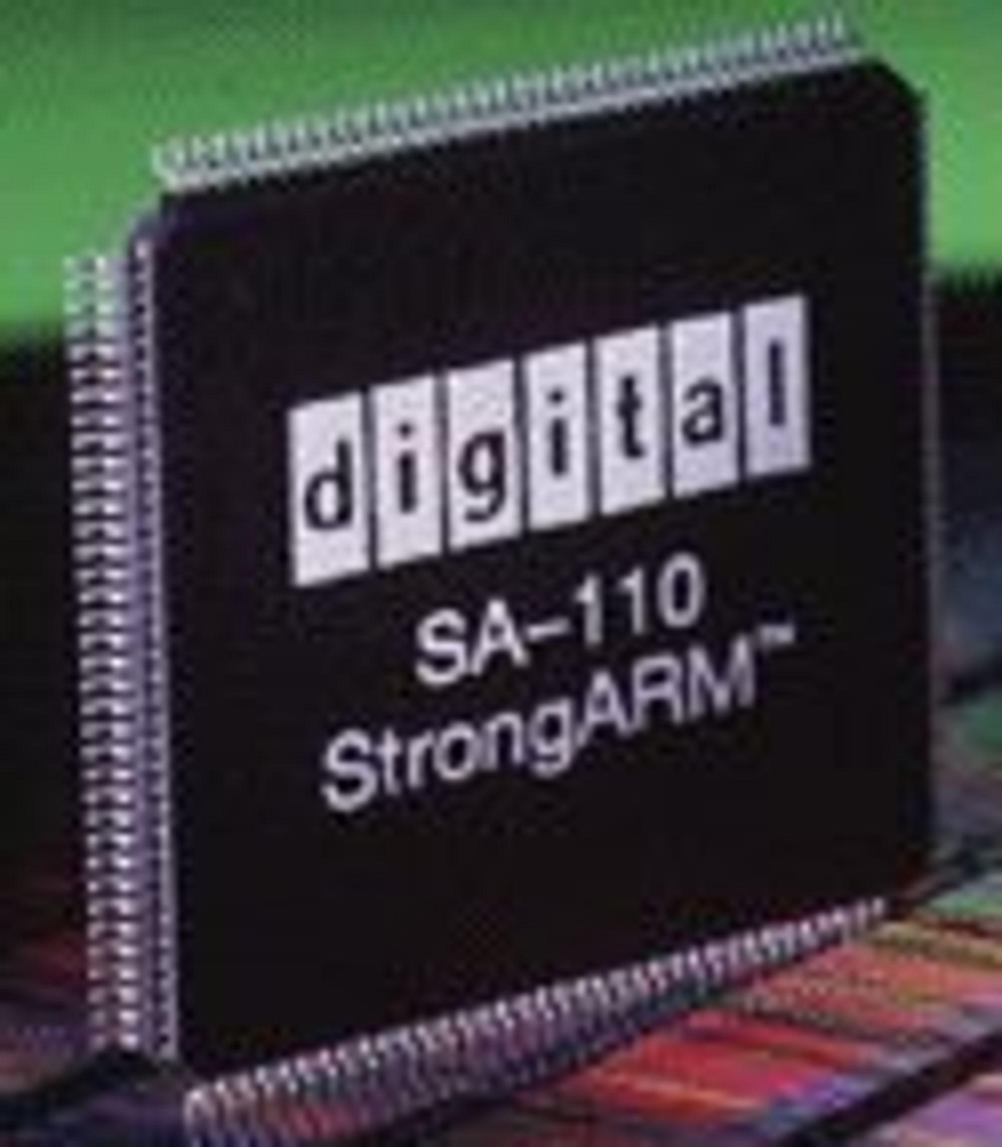 Prosessoren Digital SA-110 StrongARM