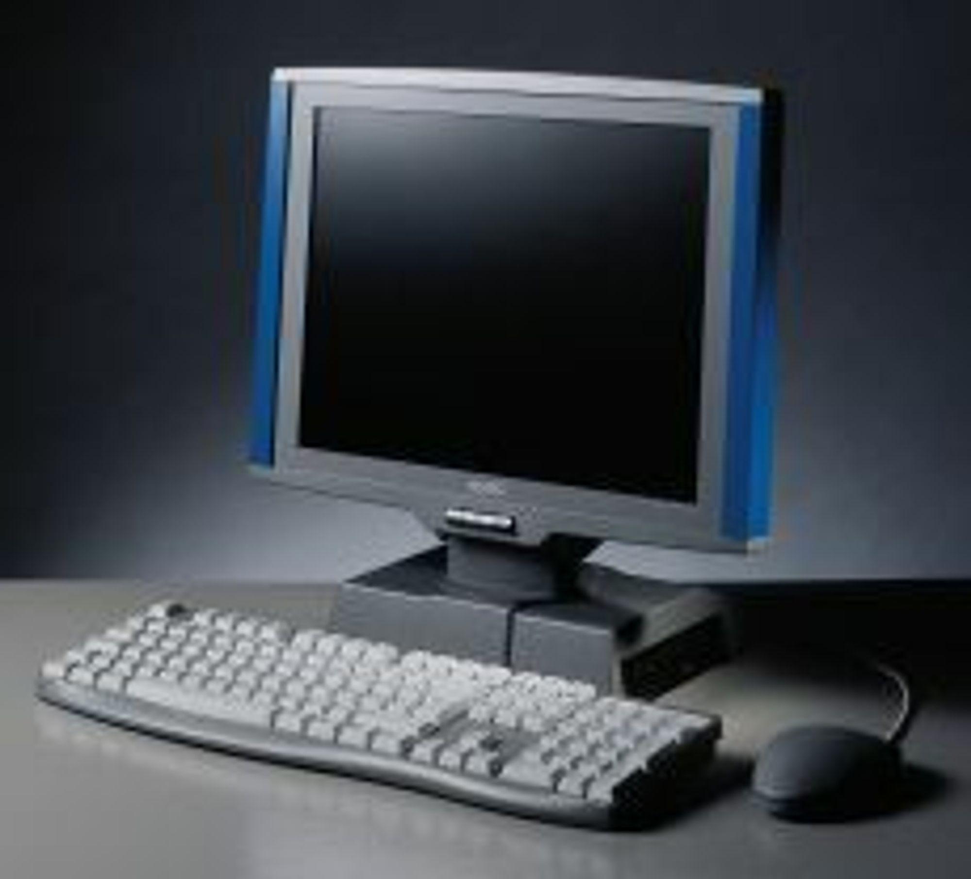 MultiQ FPC-1770, flatskjerm og PC i ett.