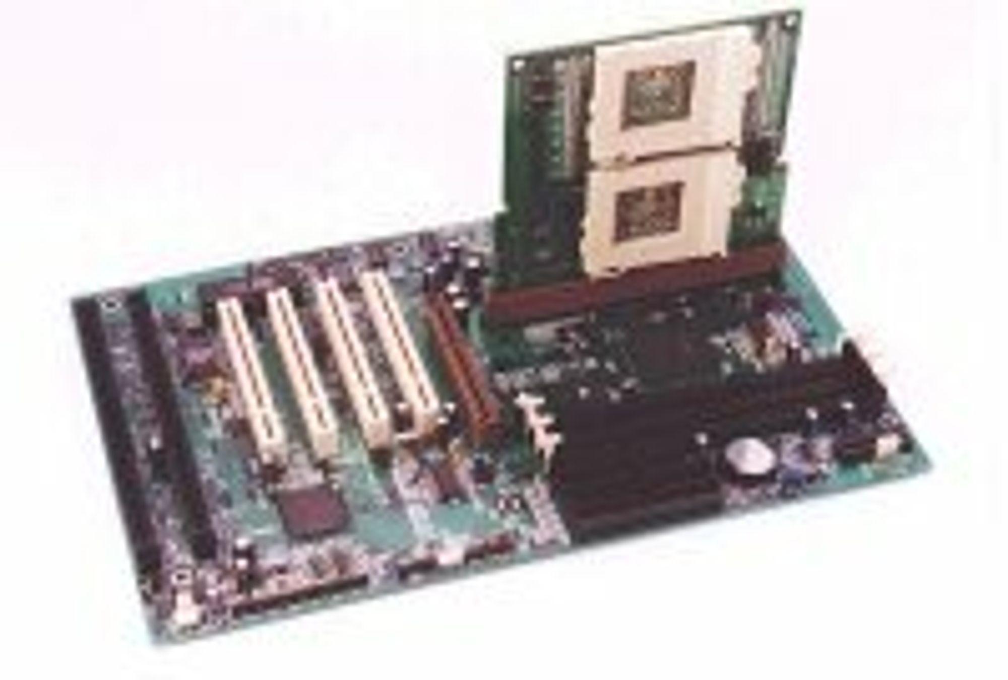 QDI TwinMagic, løsning for å montere to Celeron-prosessoren på et hovedkort med ett prosessorspor.