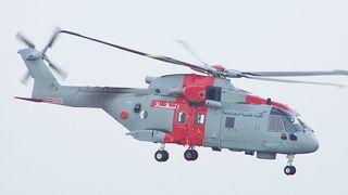 Mistet sitt andre AW101 på tre år: Tilskuere på stranda filmet redningshelikopteret styrte