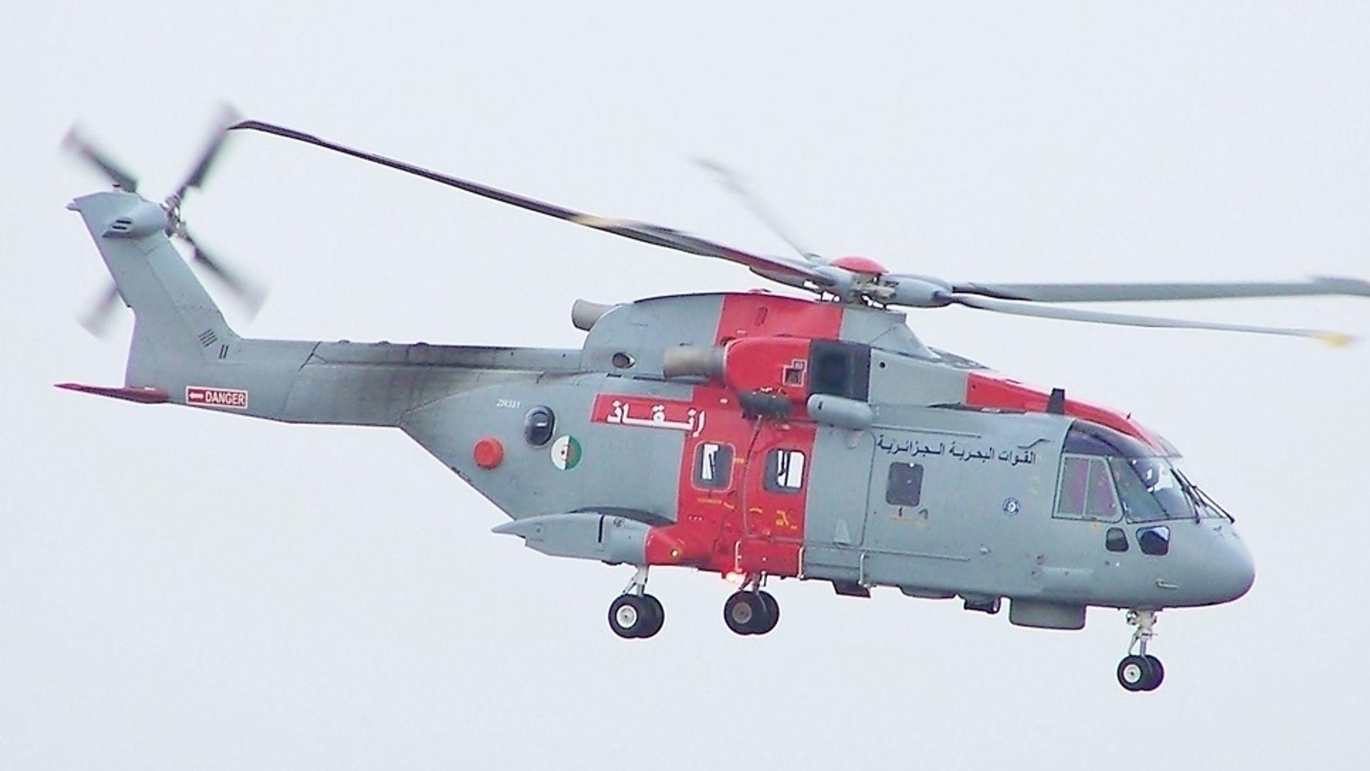 AW101-610 redningshelikopter tilhørende det algeriske sjøforsvaret.