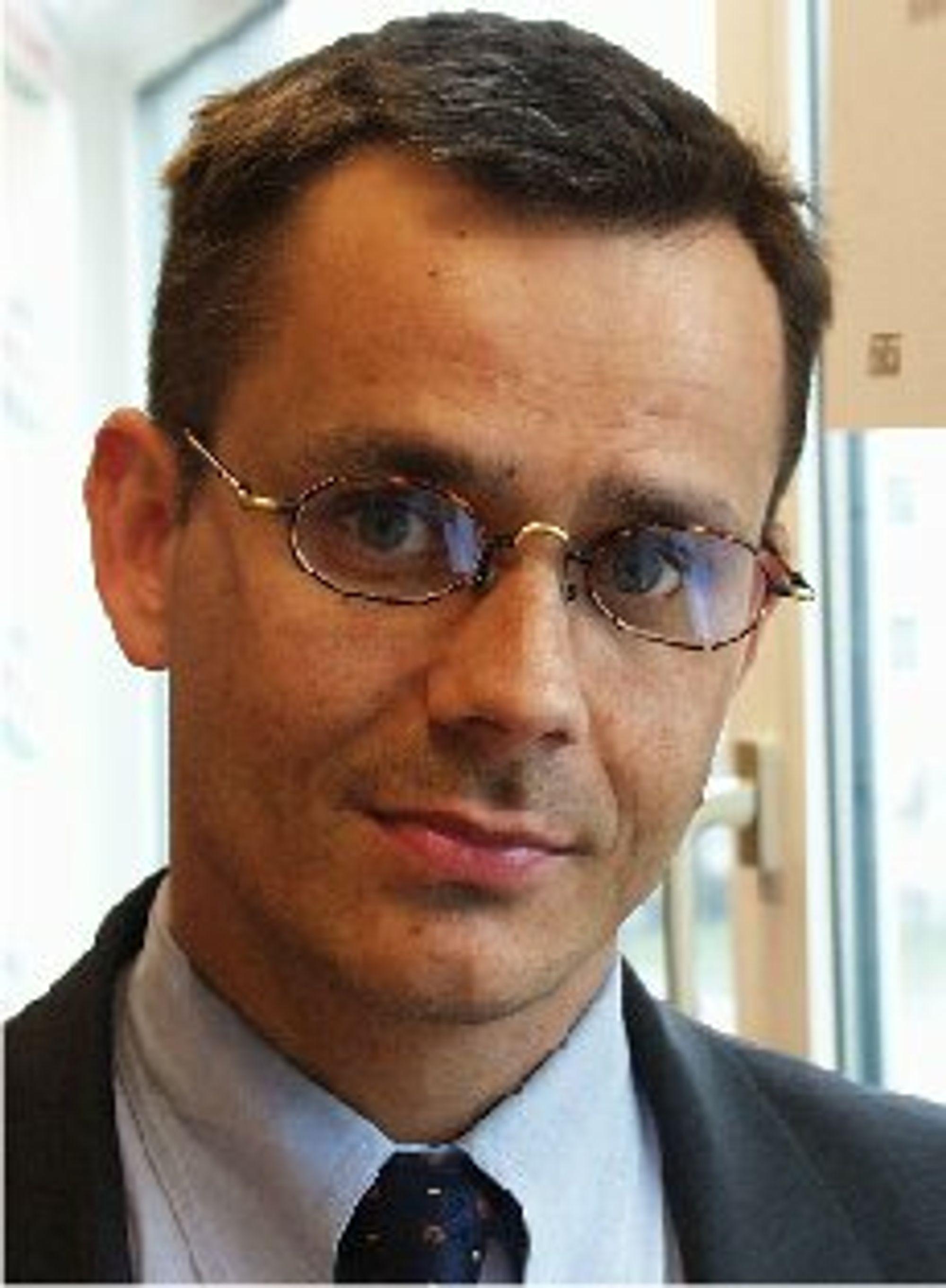 Espen Asheim, administrerende direktør i Canal Digital Norge AS.
