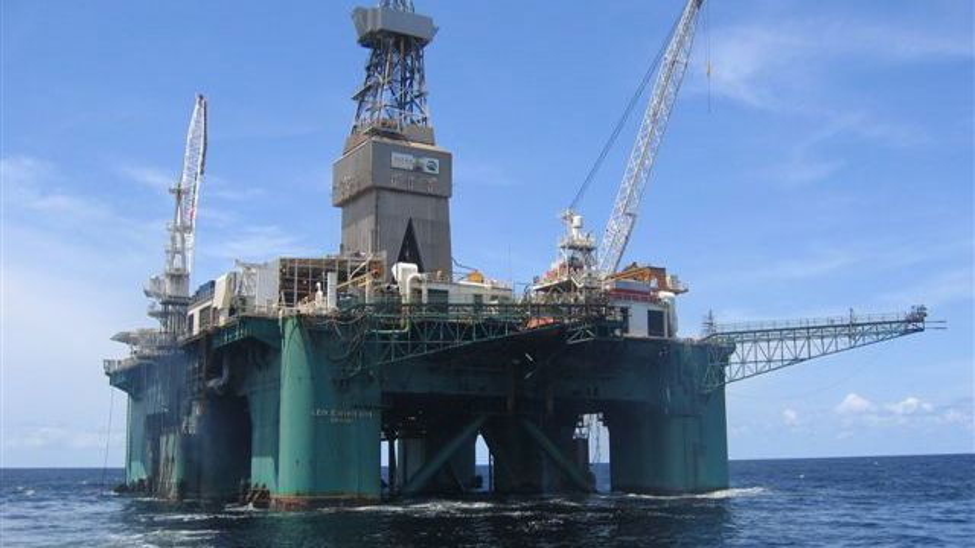 Det var boreriggen Leiv Eriksson som boret funnbrønnen til ConocoPhillips i Norskehavet. Funnet inneholder opp mot 200 millioner fat olje.