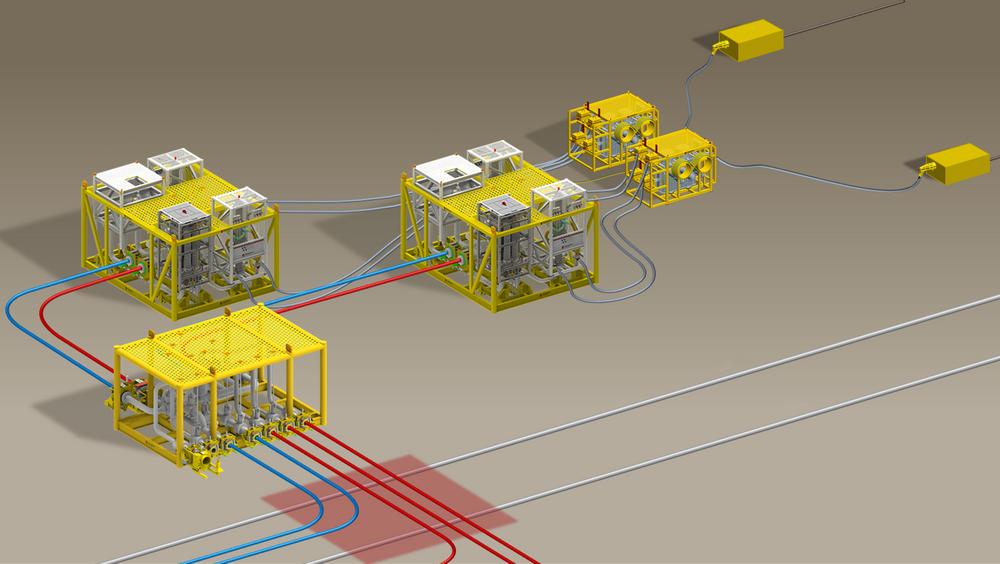 Onesubsea skal levere to like kompressorstasjoner samt en manifoldstasjon til Ormen Lange. Disse vil ha en størrelse på henholdsvis 25 x 12 meter og 24 x 7 meter og høyder på 12,5 og 14 meter. Installert vekt blir på om lag 360 tonn og 450 tonn.