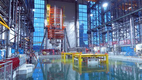 Den kompakte fabrikken ligger på 850 meters dyp – skal øke gassproduksjonen