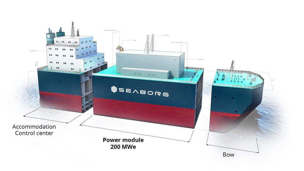 Slik forventes det at et kraftverk med en ytelse på 200 MWe skal bygges. Det vil være mulig å flytte lekteren til en annen havn om nødvendig, men i prinsippet forventes den å forbli på stedet der den ble bygget.