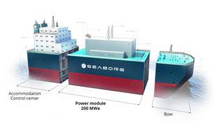 Om fem år kan dette flytende, saltbaserte atomkraftverket være i full drift