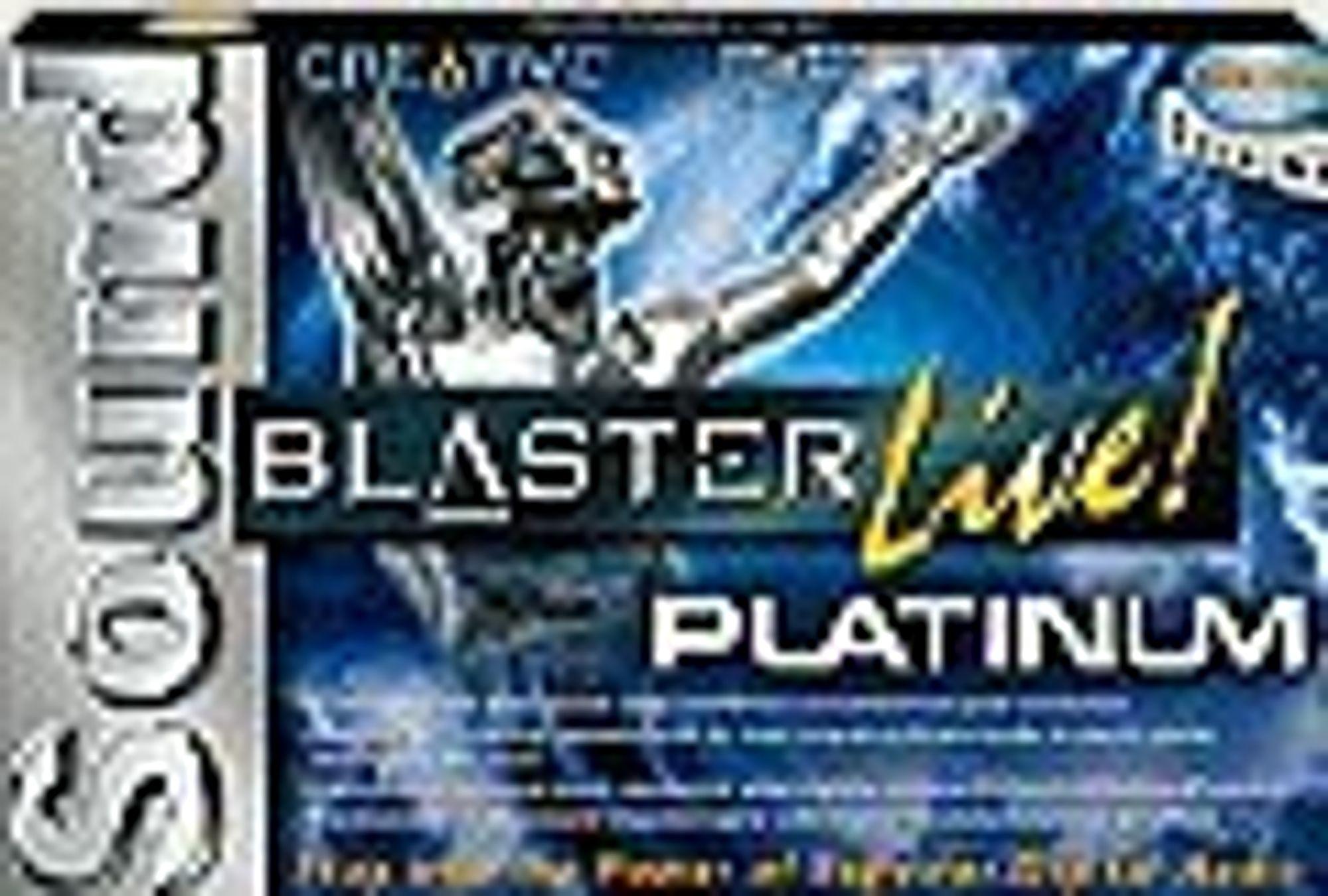 Esken til lydkortet Creative Sound Blaster Live! Platinum