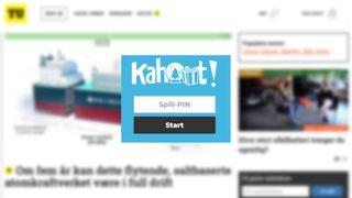 Klokken 14.45 i dag: Bli med på TU-Kahoot!
