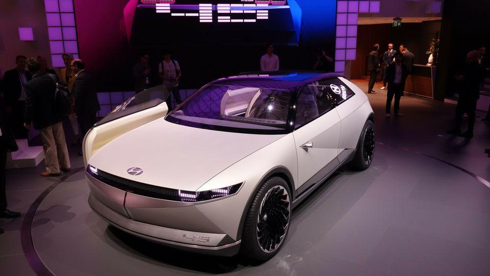 Konseptbilen Hyundai 45 danner grunnlaget for Ioniq 5.