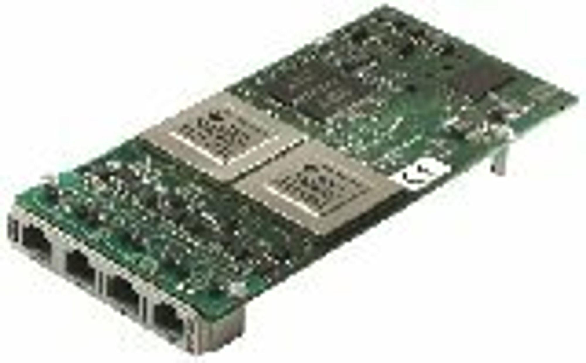 SMAS-basert E1/T1 Network Interface Board fra Comuniq.