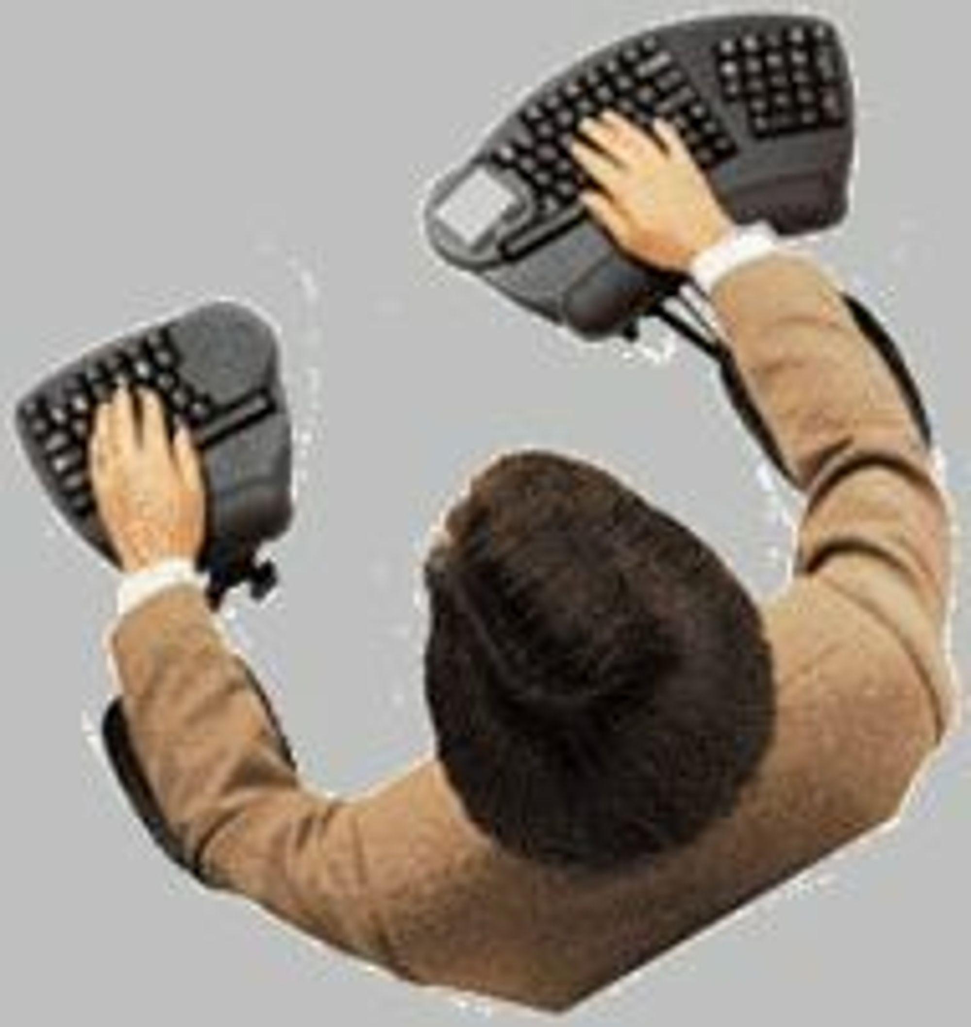 Stolmontert tastatur fra Interfaces by Cramer