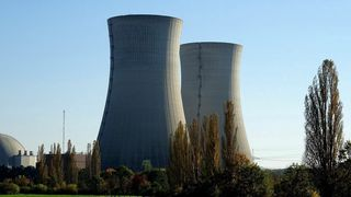 Kjernekraftverk.