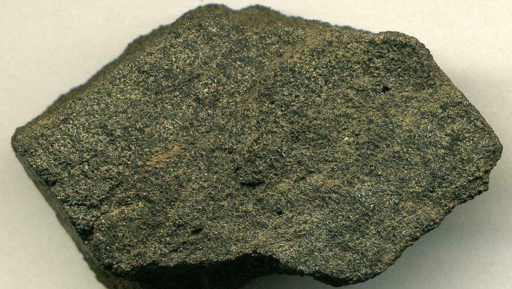 Fosfor er en begrenset ressurs. Bildet er av stein fra fosforutvinning i USA.
