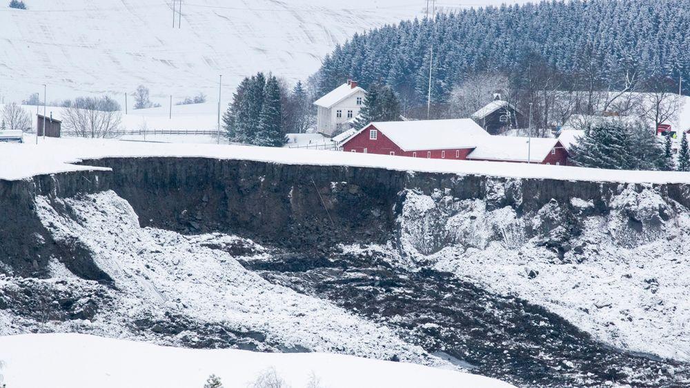 Leirskredet i Gjerdrum gikk natt til onsdag.