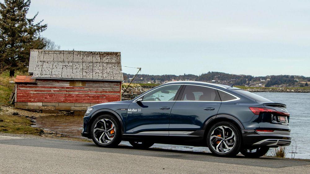 Audi Etron ble årets mest solgte bilmodell.