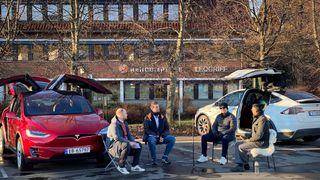 Da Tesla kom til Norge bar bilene preg av å være laget i California
