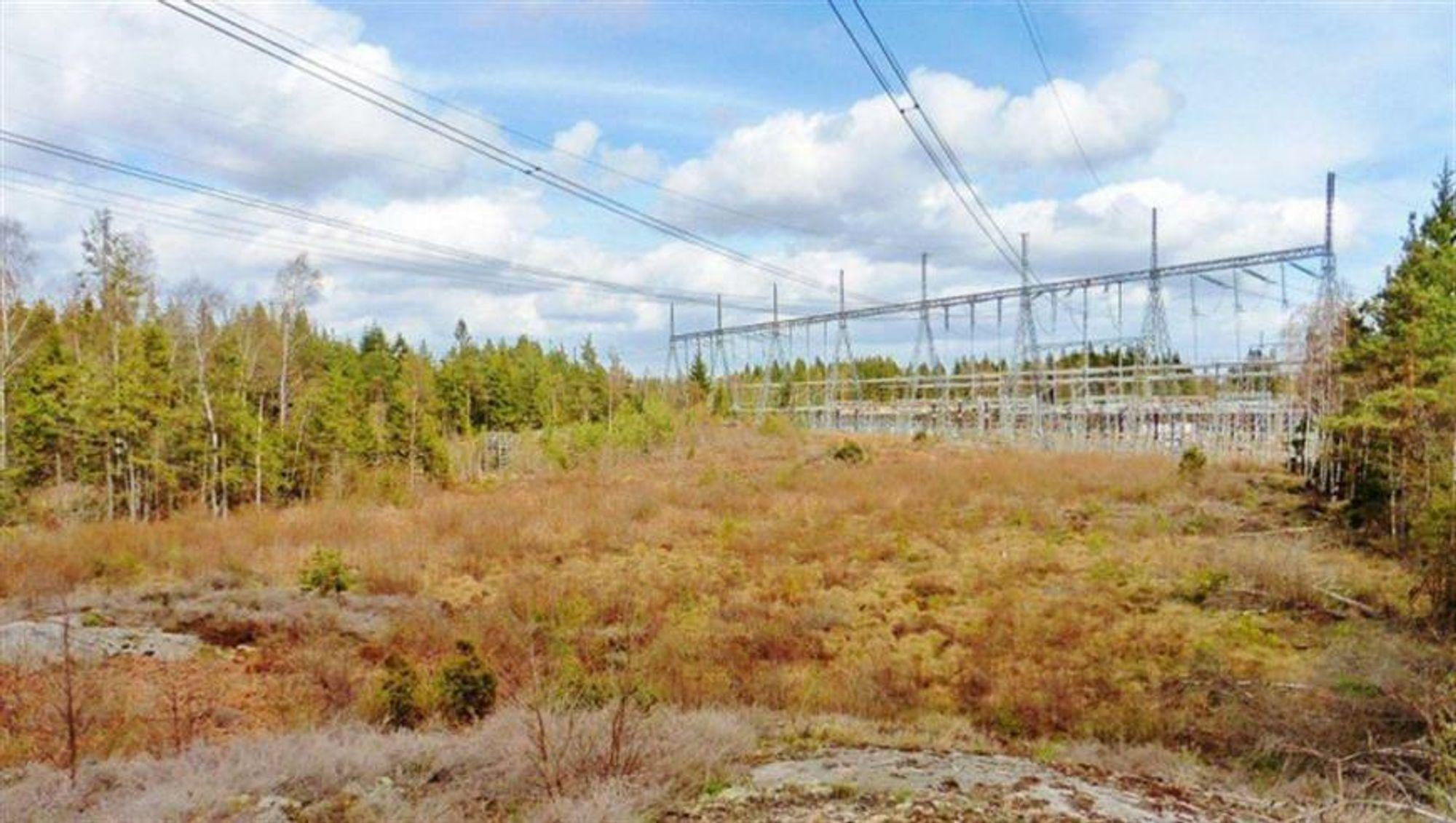 Her i Skogsäter ble det gjort omfattende arbeider i 2020, noe som reduserte kapasiteten mellom Norge og Sverige. – Ut fra markedsmeldingende sendte ut på starten av året var det vanskelig å forstå at arbeidet skulle vare så lenge og være så omfattende, sier Per Arne Vada i Energi Norge.