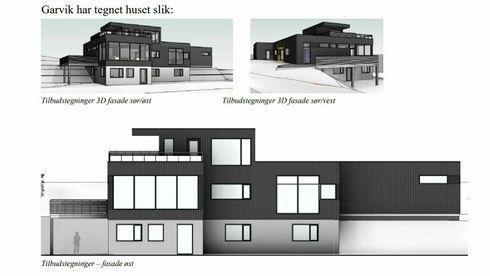 Hustegninger Garvik Prosjekt Tegning enebolig rettssak tvist arkittekt teknisk Karmøy Gabriel Torvastad