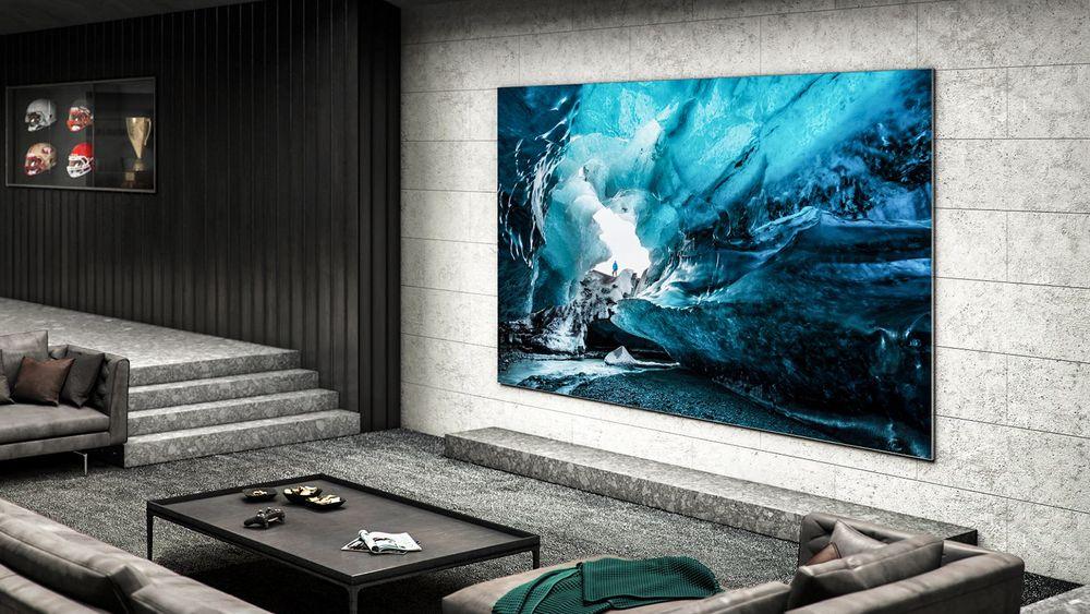 Dollarpresse: Flyter bankkontoen over er kanskje en 110 tommer TV basert på micro LED tingen. Om den koster en million eller to så sparer den litt strøm og bildet er uovertruffent.