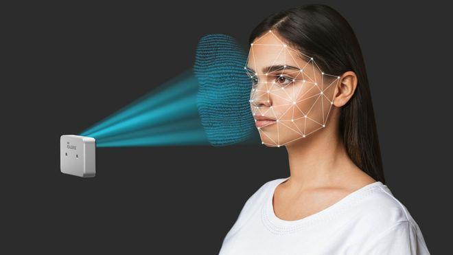 Illustrasjonsbilde av Intels nye ansiktsgjenkjenningsløsning.